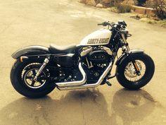 Forty eight 1200 sportster Harley Davidson
