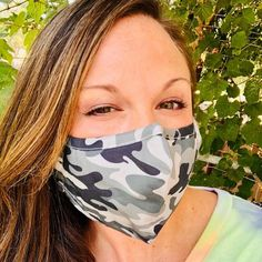 Adult Everyday Filter Fabric Mask in Camo Travel Must Haves, Camo Outfits, Camo Print, Simple Style, Fashion Boutique, School Looks, Trendy Fashion, Filters, Baseball Hats