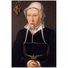 Portrait of the wife of Jan de Fevere - Northern Low Countries? Middle of the…