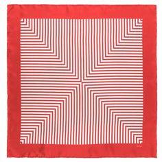 Echo's vintage prism stripe scarf