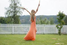 Melissa Odabash Front Split Embellished Maxi Dress
