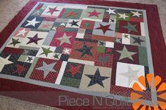 Star Quilt - Piece N Quilt