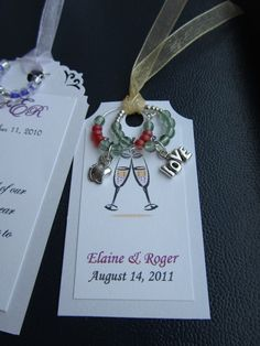 Name cards/favors