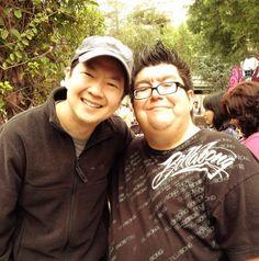 Ken Jeong at Disneyland