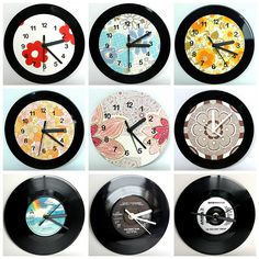 My clocks from old records