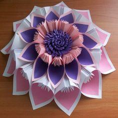 Цветок из бумаги - украшение на праздник. Сделаю эксклюзивный декор из бумаги для Вашего праздника