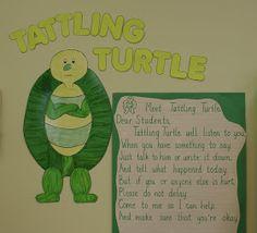 Crafts For Preschoolers: Tattling Turtle