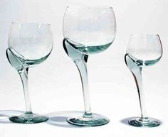Ngwenya Glass crooked stem wine glasses, unique and beautiful! Recycled Glass, Shot Glass, Wine Glass, Shabby Chic, Glasses, Tableware, Fair Trade, South Africa, Kitchen
