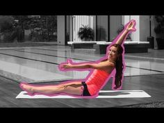 Francene Perel Fabulous Flat #Abs for Beginners | #Pilates #Bootcamp With Cassey Ho [ Great video for #abs/ lots of moves we do in #pilates class. Also lots of links to other workouts