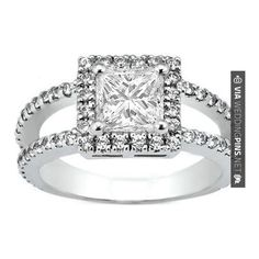 Neato! - princess halo double band pave | CHECK OUT MORE GREAT SAN DIEGO WEDDING PHOTOS AND IDEAS AT WEDDINGPINS.NET | #weddings #wedding #sandiego #sandiegowedding #sandiegoweddingphotographer #bachelorparty #events #forweddings #fairytalewedding #fairytaleweddings #romance