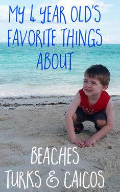 My 4 year old had an amazing time at Beaches Turks & Caicos Resort Villages & Spa! We're sharing his favorite things about the trip. #BeachesMoms [ad]