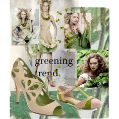 greening trend, created by kathy-martenson-sanko on Polyvore