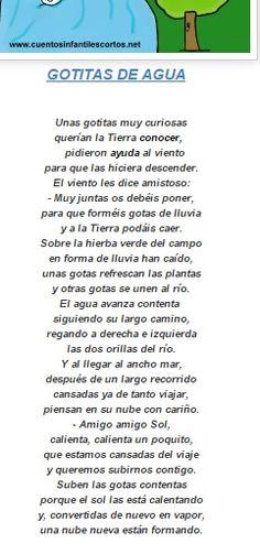 Poema agua ++++++++
