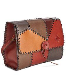 Image 2 of Patricia Nash Patchwork Dante Flap Shoulder Bag