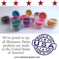 We are very proud to say we manufacture all Shimmerz products in the USA!