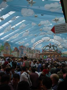 Oktoberfest: Munich, Germany  Good memories!  Germans like to have a good time, especially if beer is involved ;-)