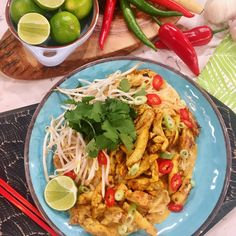 Ching's satay chicken stir-fry with spicy coconut peanut sauce