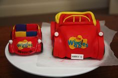 How to make a car cake Part 2