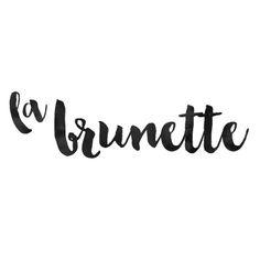 Logo La Brunette