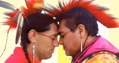 This new PBS documentary on 'Independent Lens' called 'Two Spirits' goes into depth on the Navajo (amongst others) conception that the world is multi-gendered. This worldview that challenges the gender binary that is so deeply embedded in Western cultures is an important part of the spring semester global history course I teach on world views and, in particular, the possibilities for gender equity through the lens of studying matriarchal societies.