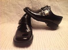 Reaction Kenneth Cole Black Dress Shoes Size 12 1/2M FREE SHIPPING