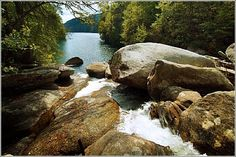Devils Fork State Park - Lake Jocassee - South Carolina Lakes