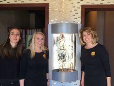 Dina- Nail Technician Madison- Spa Concierge Roseanne- Owner & Esthetican