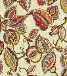 Waverly Print Fabric-Fantasy Fleur/Fiesta