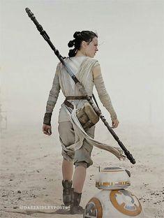 |Rey & BB-8| #rey #starwars #theforceawakens