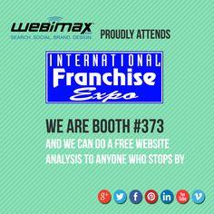 This week is the start of the International Franchise Expo in New York City. We look forward to seeing you there!