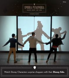 See what happens when Mickey, Minnie, Goofy, Anna, Elsa, Olaf, Cinderella, Buzz Lightyear and other Walt Disney World and Disneyland Resort characters magically surprise unsuspecting shoppers with their Disney Side. The joy and laughter that comes with Disney Parks characters is something kids and adults will hold in their memories forever.
