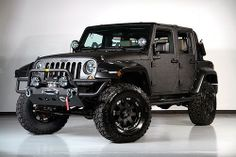 Nicely modified Jeep Wrangler.