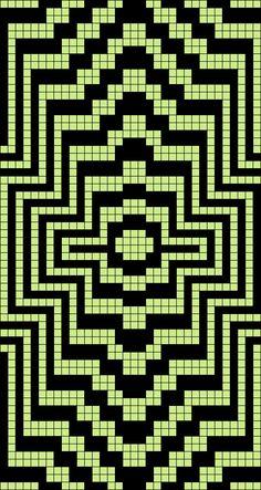 Artwork by at Grid Paint. Beginner Knitting Patterns, Fair Isle Knitting Patterns, Easy Crochet Patterns, Cross Stitch Patterns, Crochet Diagram, Filet Crochet, Crochet Motif, Mosaic Patterns, Beading Patterns