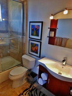 Traditional Full Bathroom with European Cabinets, Custom design vanity, tiled wall showerbath, Farmhouse sink, Flush