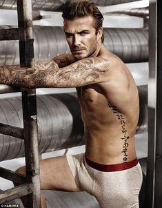 David Beckham. via dailymail.co.uk