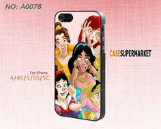 Phone Cases, iPhone 5/5S Case,  iPhone 5C Case, iPhone 4/4S Case, Phone covers, Wacky, ariel, Snow White, Skins, Case for iPhone-A0078 on Etsy, $8.99