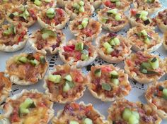 Bacon and Spicy Tomato Tarts - Catering by Debbi Covington - Beaufort, SC