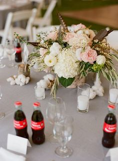 Floral design: Lily & Co. Photographer: Carrie Patterson Jackson Hole Wedding at Snake River Ranch