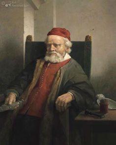 De goudsmid Jan Lutma, schilderij van Henk Helmantel (naar een ets van Rembrandt). De zilver- en goudsmid Johannes (Jan, Joannes of Janus) Lutma werd rond 1584 geboren in het Duitse Emden en werd begraven in Amsterdam op 29-01-1669. Omstreeks 1615 verbleef hij enige tijd in Parijs. In 1621 vestigde Lutma zich definitief in Amsterdam, waar hij  bevriend raakte met Rembrandt en Joost van den Vondel. Lutma is vooral bekend geworden als de ontwerper van het koorscherm in de Nieuwe Kerk te…