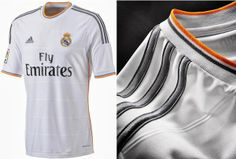 Camisa titular do Real Madrid 2013-2014 - Novas camisas dos times europeus