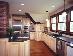 white cabinets w brown glaze   For the Home   Pinterest   White ...