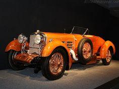 coches con historia: UN HISPANO SUIZA CON LA CARROCERÍA DE MADERA