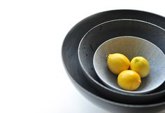 DECORATIVE BOWLS (made ​​of concrete) on Behance