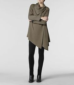 AllSaints Hoxton Monument Coat | Womens Trench Coats