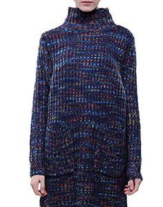 83f7e0d1d7417 Minibee Women s Patchwork Knitted Sweater Dress Black
