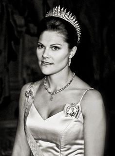 Crown Princess Victoria of Sweden. Photo by Rickard Eriksson