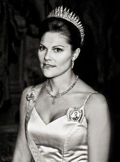 Crown Princess Victoria of Sweden. Photo by Rickard Eriksson