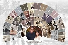 If you're looking for the best way to display your heritage for friends and family, look no further. As our most popular item, this elegant fan cha. Family Tree Book, Family Tree Photo, Family History Book, Family Trees, Family Pics, Family Tree Research, Genealogy Organization, Family Genealogy, Genealogy Humor