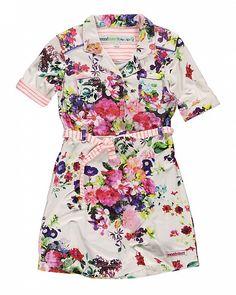 esches, kurzärmeliges Kleid für Girls mit modischem Geschmack von Moodstreet.  Preis: 49,95€