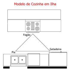 Cozinha com Ilha Corner Pantry, Kitchen Corner, Open Kitchen, Kitchen Layout, Rustic Chic Kitchen, Kitchen Decor, Interiores Design, Modern Rustic, Diy Design